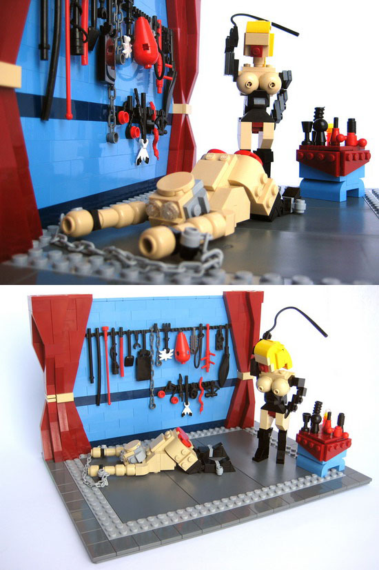 Lego your ego and SUBMIT.