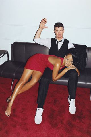 Yeah Romin Thicke can spank my butt ANY day.